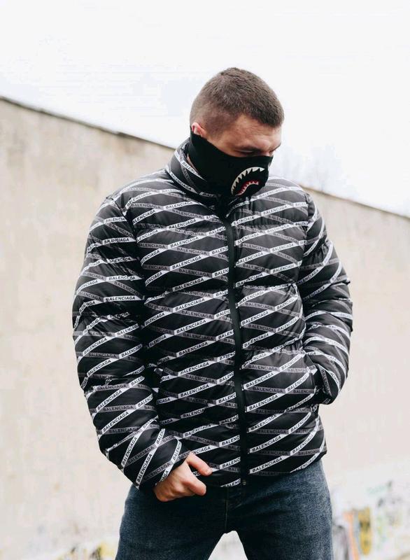 Мужская зимняя куртка Balenciaga - Фото 4