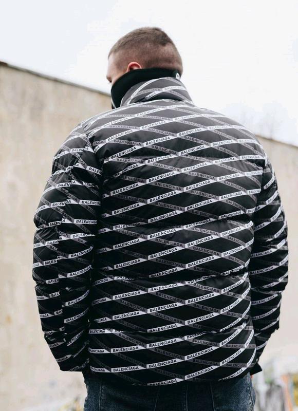 Мужская зимняя куртка Balenciaga - Фото 2