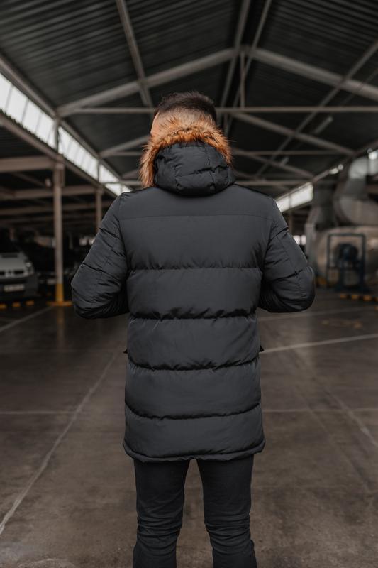 Зимняя теплая мужская куртка арктика - Фото 5