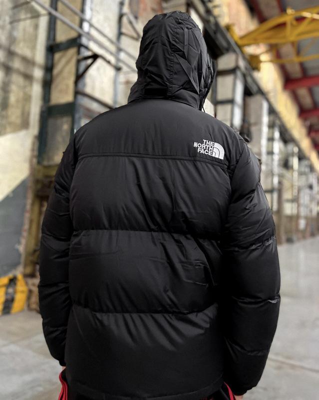 Мужская зимняя куртка пуховик the north face 700 - Фото 2