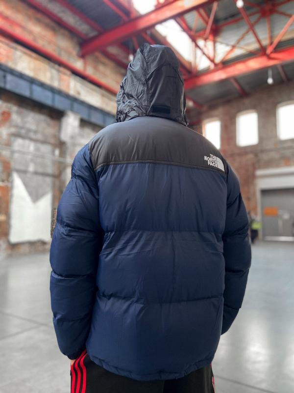 Мужская зимняя куртка пуховик the north face 700 - Фото 6