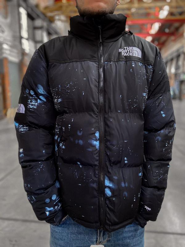 Мужская зимняя куртка пуховик the north face 700 - Фото 3