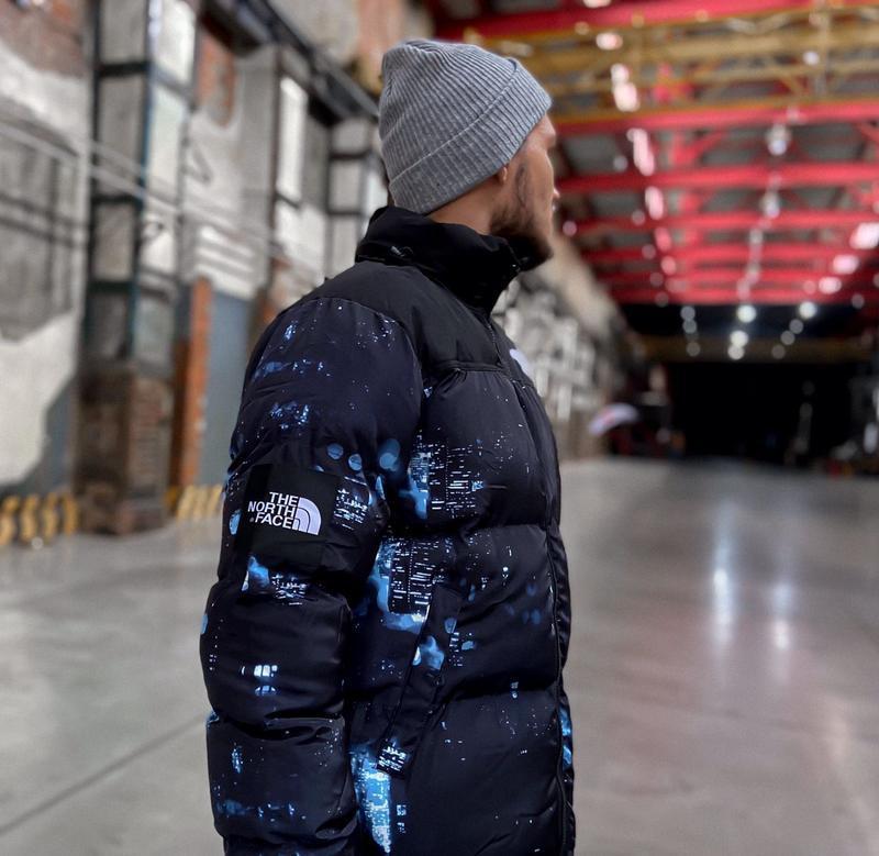 Мужская зимняя куртка пуховик the north face 700 - Фото 4