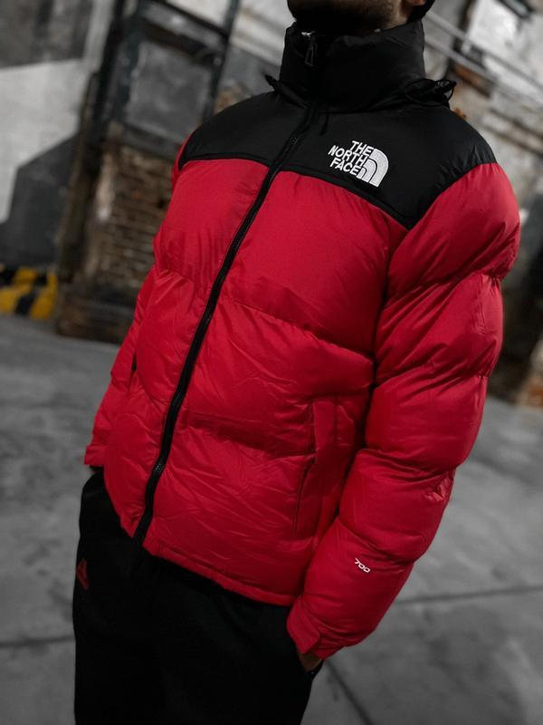 Мужская зимняя куртка пуховик the north face 700 - Фото 8