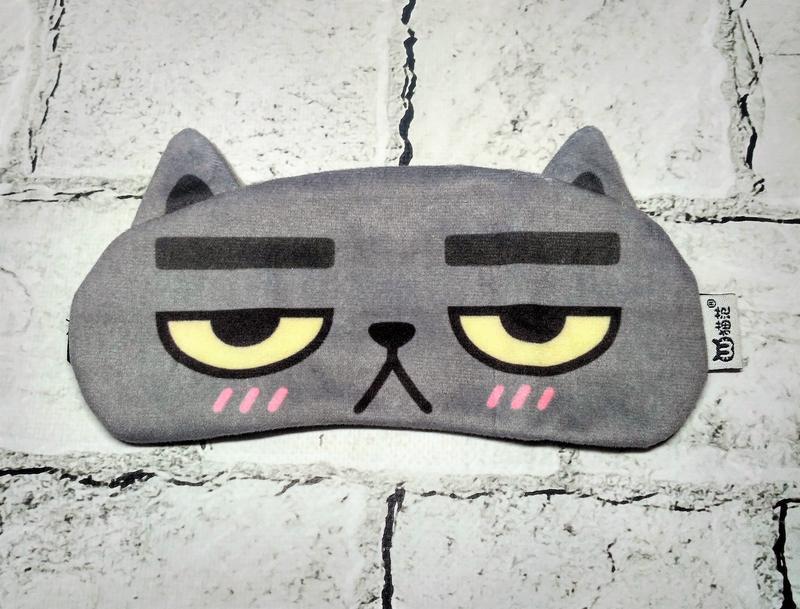 Маска для сна Кот грустный