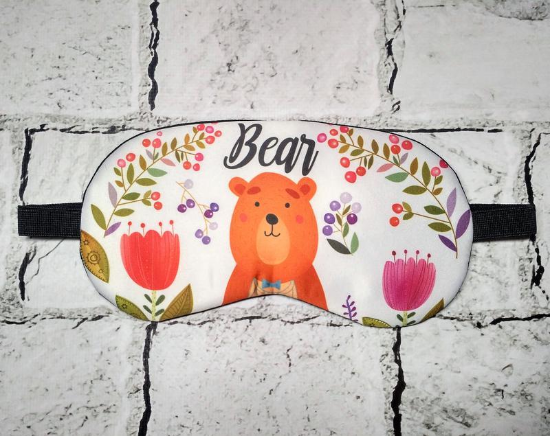 Маска для сна Мишка Bear