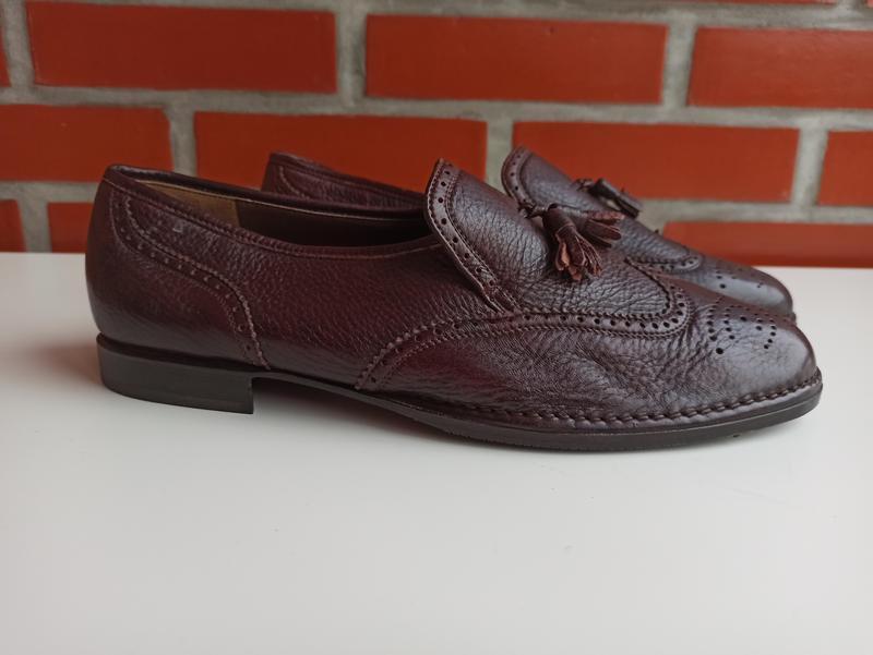 Bally новые мужские туфли броги оксфорды размер 11.5 45.5
