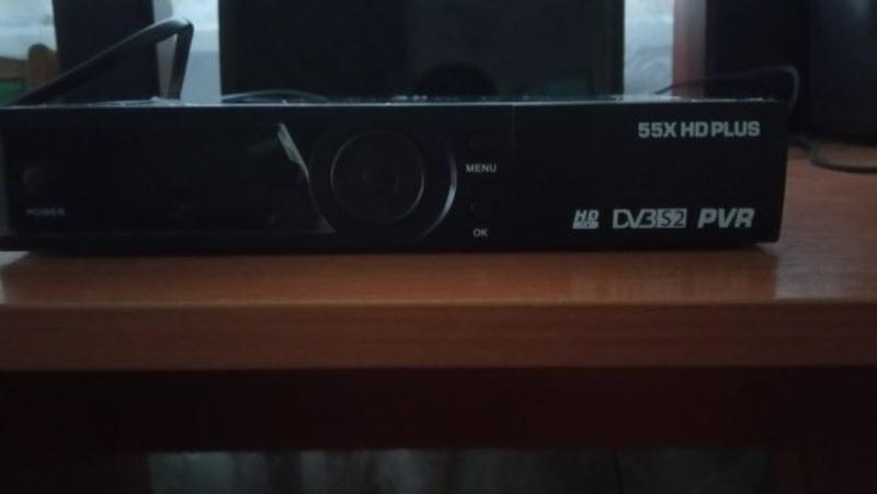 Ресивер 55X HD Plus на запчасти