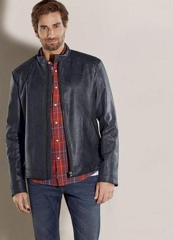 Отличная деми куртка из экокожи Livergy. 48 евро