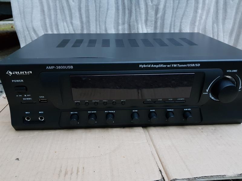 Ресивер Auna AMP-3800USB Германия