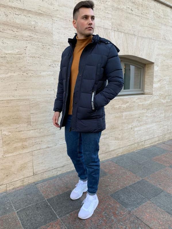 Зимняя куртка мужская тинсулейт
