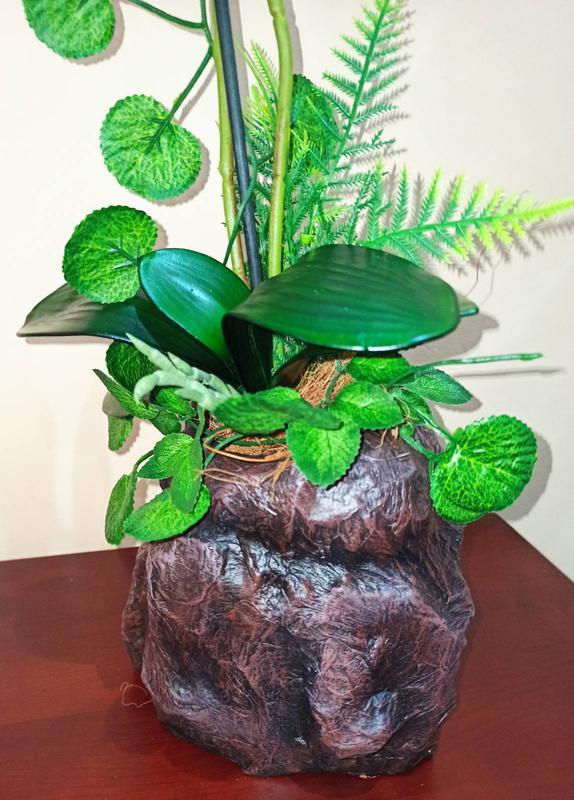 Орхидея искусственная латексная - Фото 2