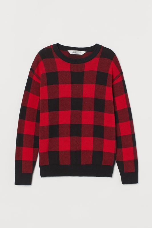 10-12/12-14 лет h&m новый фирменный натуральный джемпер свитер...