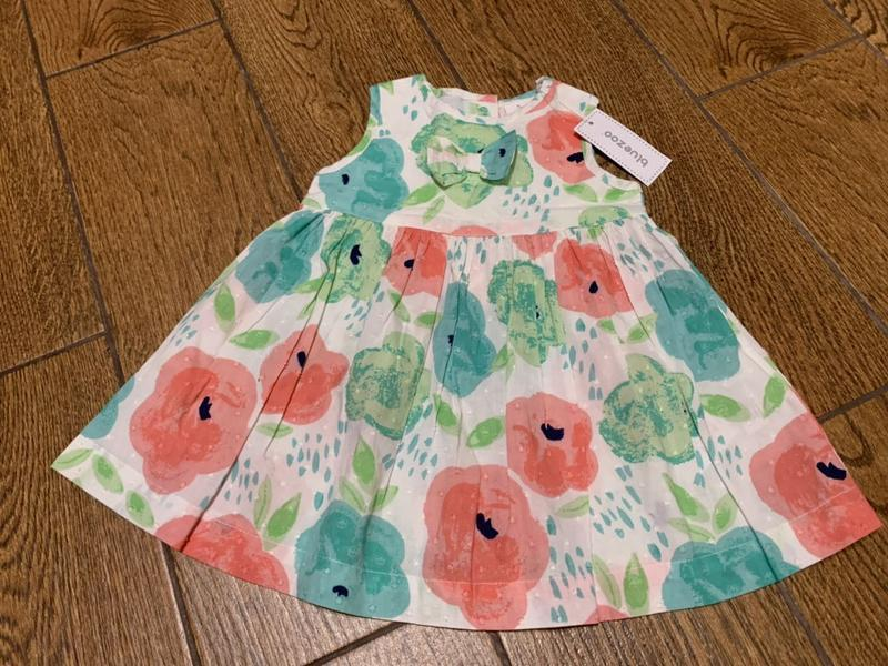 Милое платье в цвета на 3-6 мес.