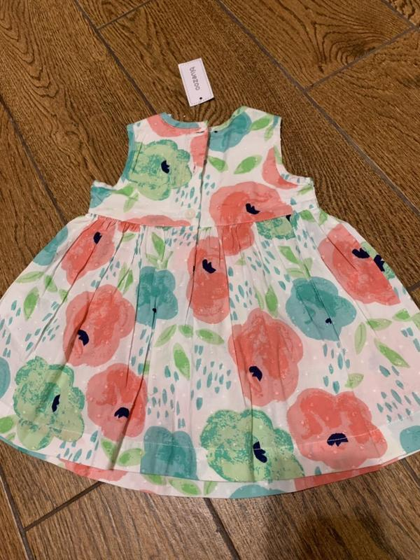 Милое платье в цвета на 3-6 мес. - Фото 3