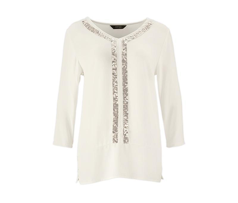 Нарядна блуза с пайетками р.евро 44-46 l xl tcm tchibo германия