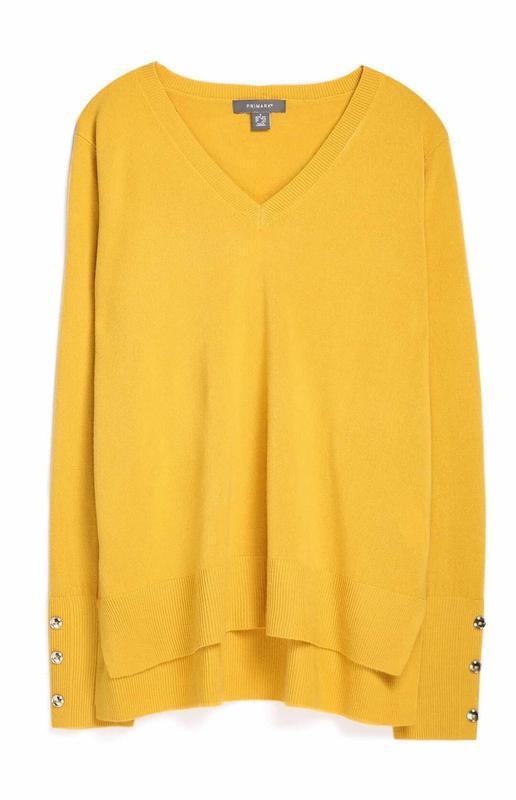Горчичный пуловер primark размеры новый. - Фото 9