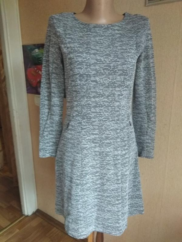Тёплое платье-миди от h&m