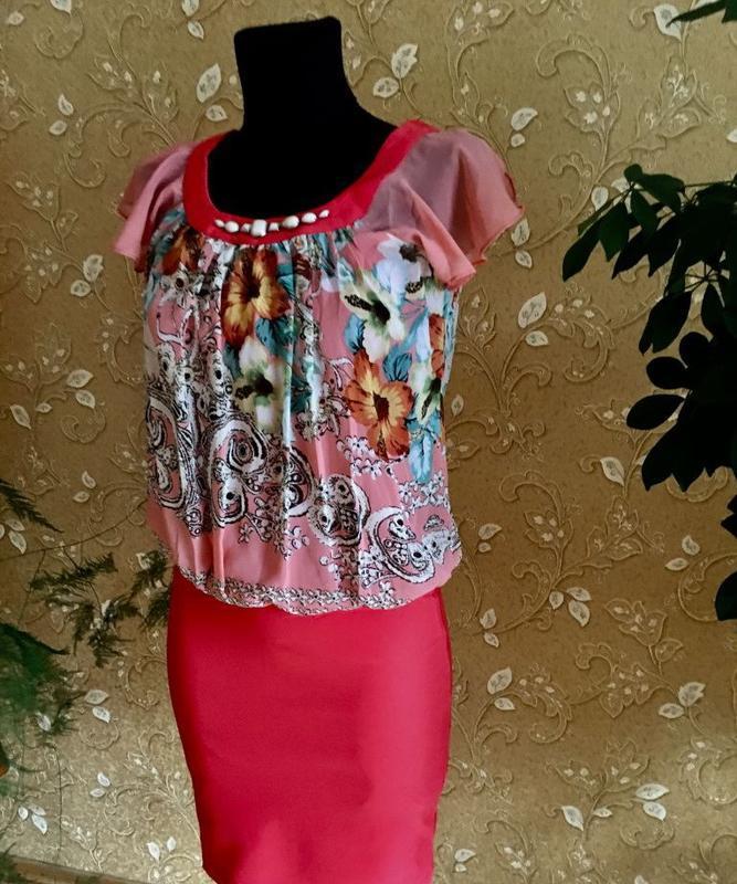 Очаровательное лёгкое платье-миди от ultimod
