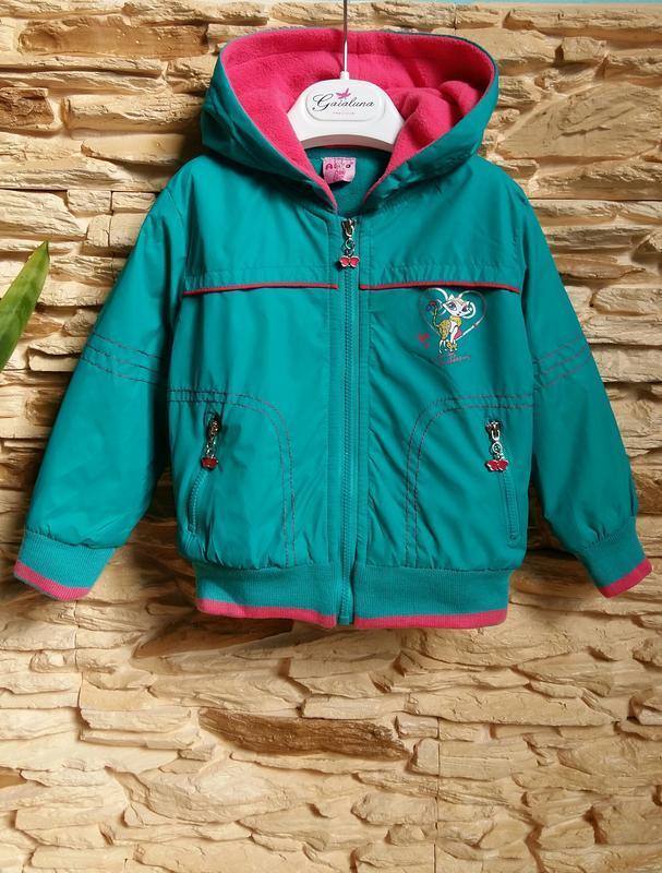 Демисезонная курточка/ветровка ativo (португалия) на 2 годика ... - Фото 2