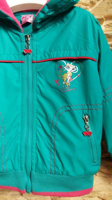 Демисезонная курточка/ветровка ativo (португалия) на 2 годика ... - Фото 3