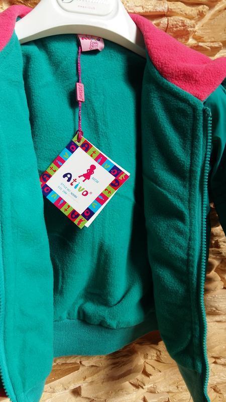 Демисезонная курточка/ветровка ativo (португалия) на 2 годика ... - Фото 5