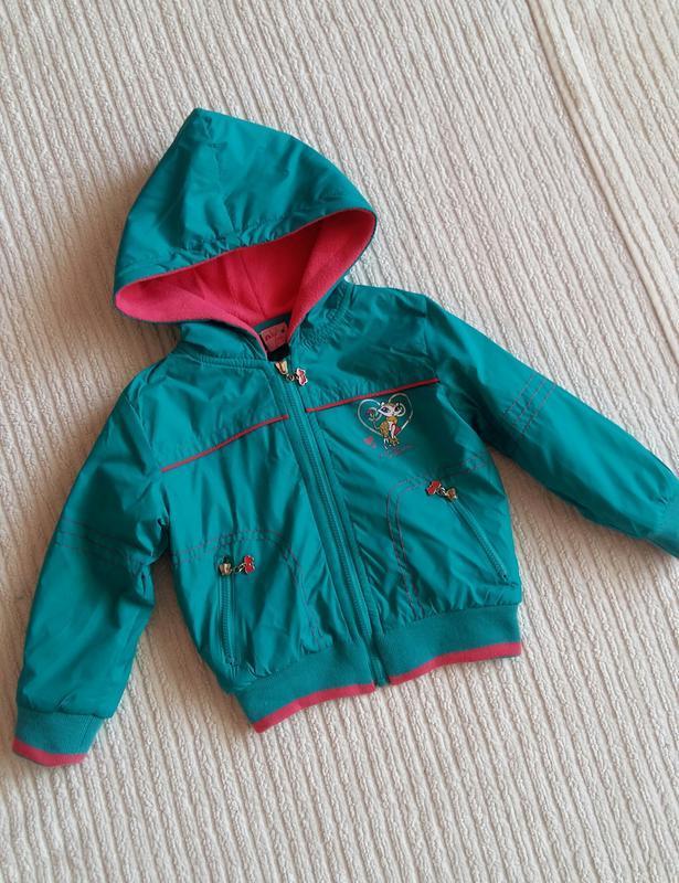 Демисезонная курточка/ветровка ativo (португалия) на 2 годика ... - Фото 8