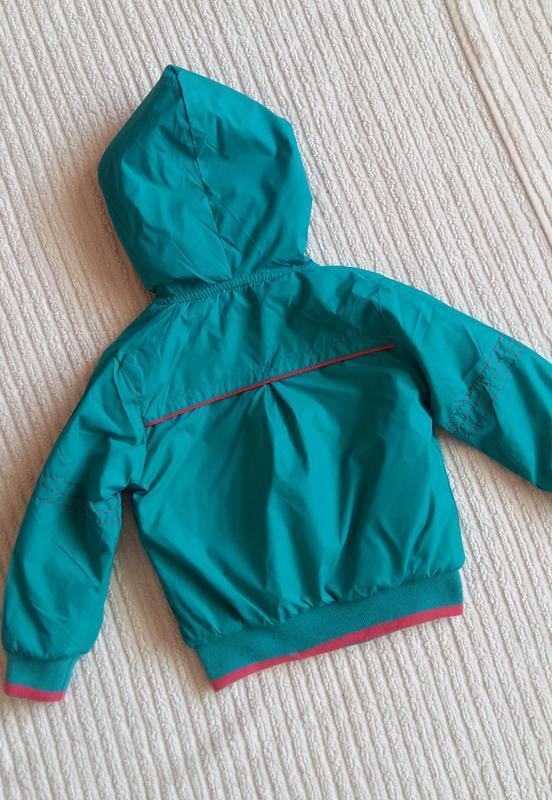 Демисезонная курточка/ветровка ativo (португалия) на 2 годика ... - Фото 9