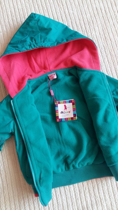 Демисезонная курточка/ветровка ativo (португалия) на 2 годика ... - Фото 10