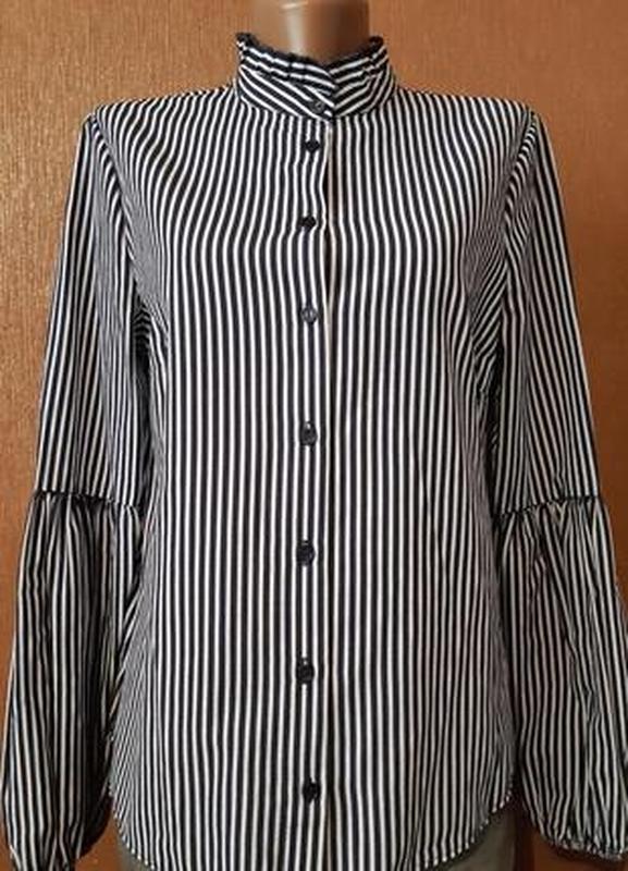 Рубашка с красивым рукавом  размер 10 primark