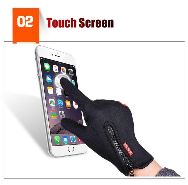 Спортивные перчатки windstopper,сенсорные перчатки
