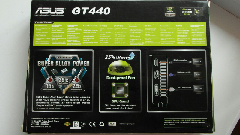 Asus GT440 DDR5 1GB 128bit - Фото 13