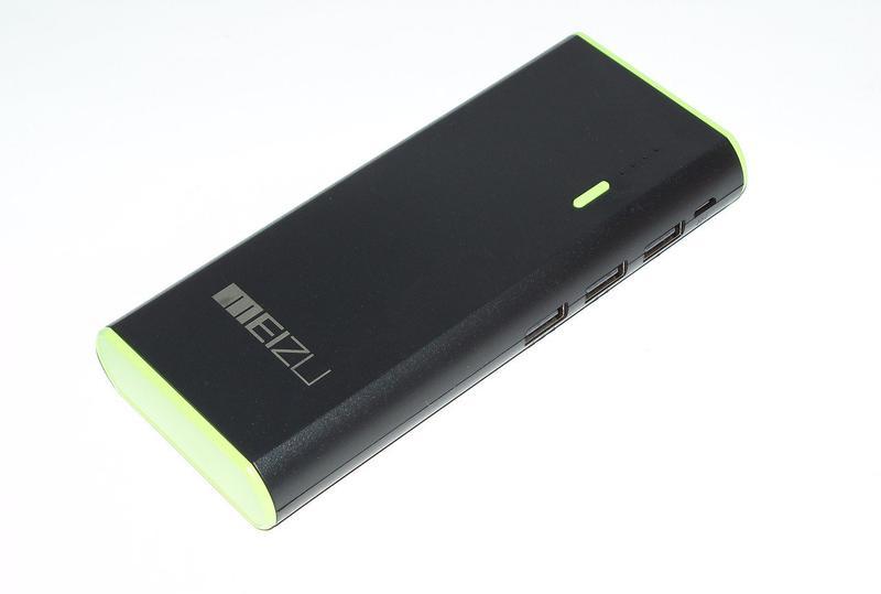 Батарея універсальна Power bank  MEIZU 30000 mAh з USB+LEDфонарь