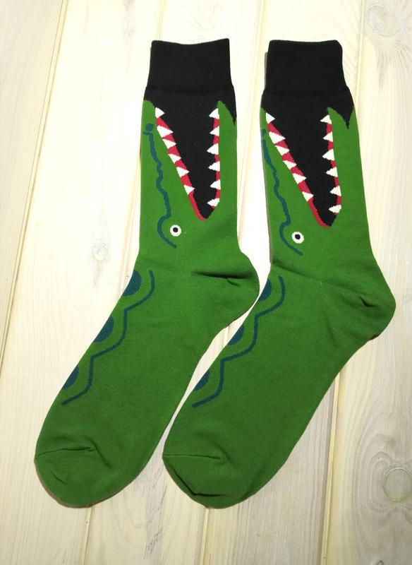 Носки серия животные прикольные носки с принтом стильные рисун...