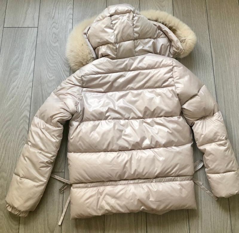 Куртка пуховик автоледи - Фото 3