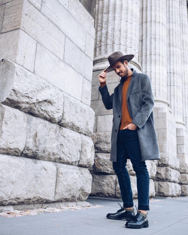 Пальто из смесового кашемира h&m edition , premium quality ! м...