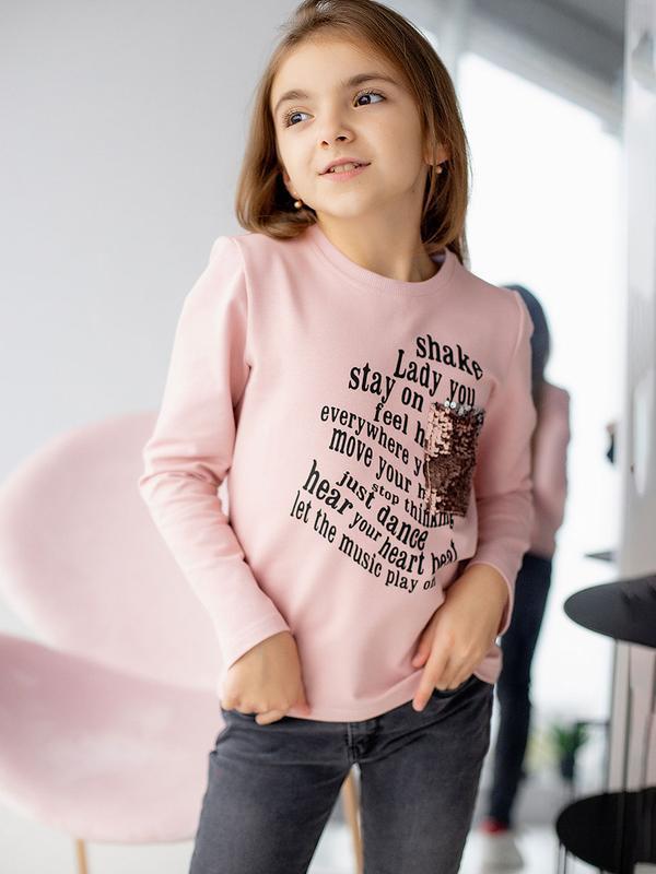 Свитшот, джемпер для девочки