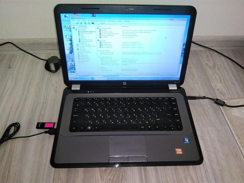 Ноутбук HP Pavilion G6-1000 под восстановление или на запчасти
