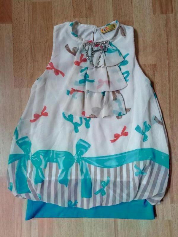 Блуза \туника для девочки  9-12 лет