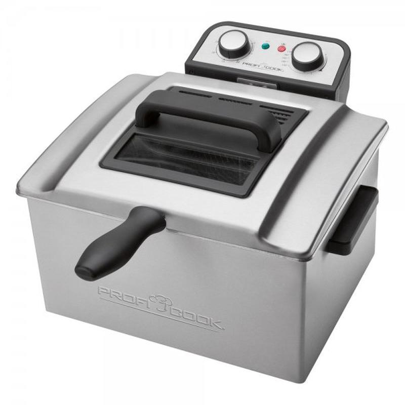 Фритюрница Profi Cook PC-FR 1038 ( 5 литров 3000 Вт ) - Фото 2