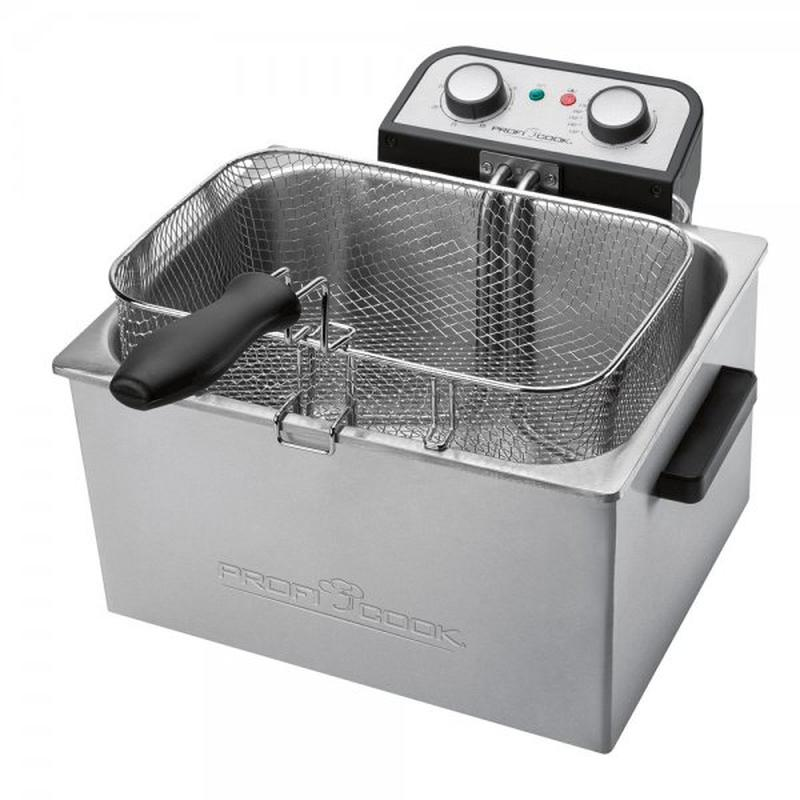 Фритюрница Profi Cook PC-FR 1038 ( 5 литров 3000 Вт ) - Фото 3