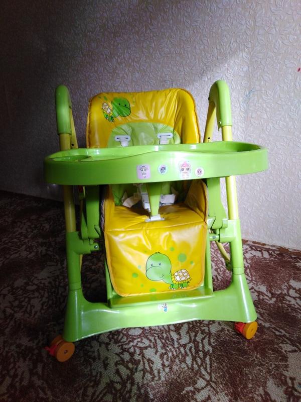 Детский стульчик для кормления - Фото 4