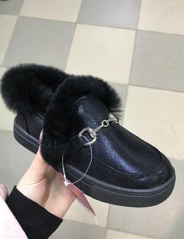 Ботинки с мехом. акция к новому году.