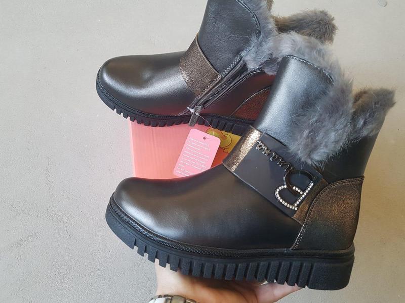 Зимние ботинки для девочки tom.m