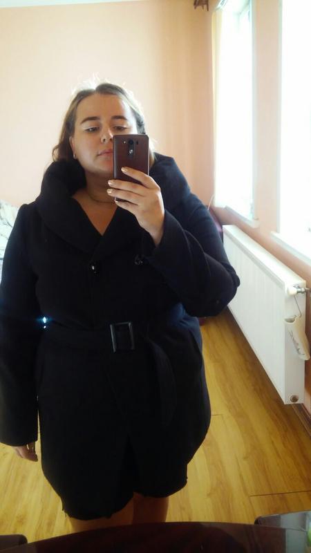 Пальто размера плюс