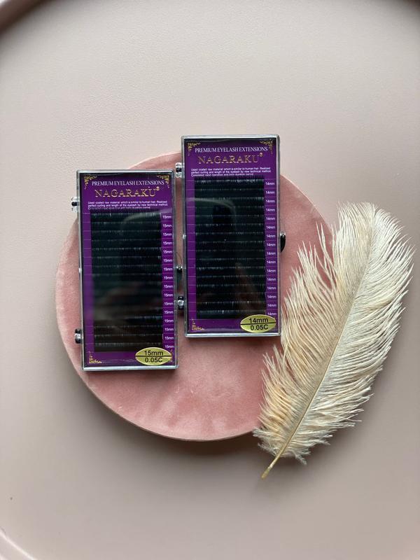 Ресницы Nagaraku большой выбор. Материалы для наращивания ресниц
