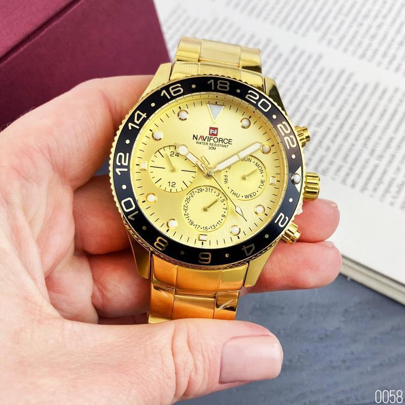 Мужские наручные часы naviforce - Фото 5