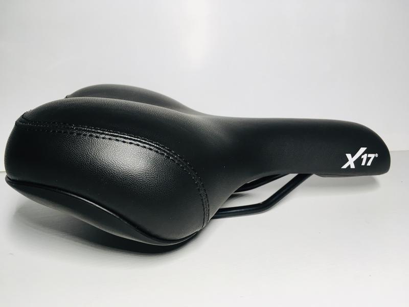 Седло сидушка сидение велосипедное X17