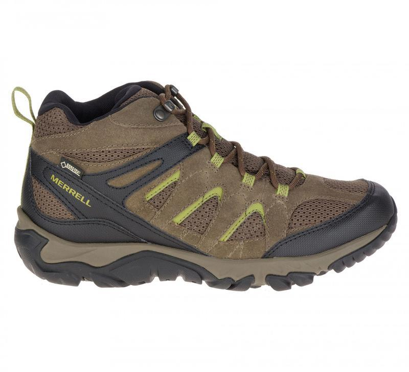 Новые зимние мужские ботинки merrell gore-tex сток из германии