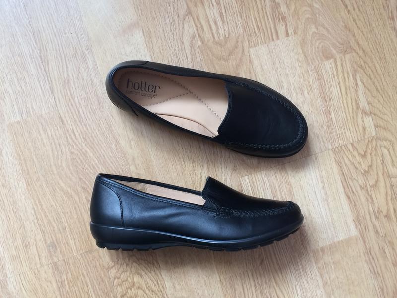 Новые кожаные туфли hotter англия 37 размера - Фото 3
